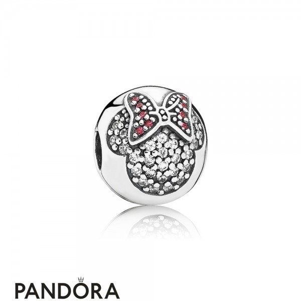 Pandora Disney Charms Minnie Pave Clip Jewelry