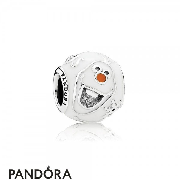 Pandora Disney Charms Olaf Charm Mixed Enamel Jewelry