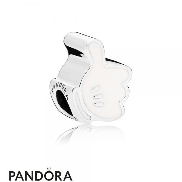 Women's Pandora Disney Mickey's Iconic Glove Charm Jewelry