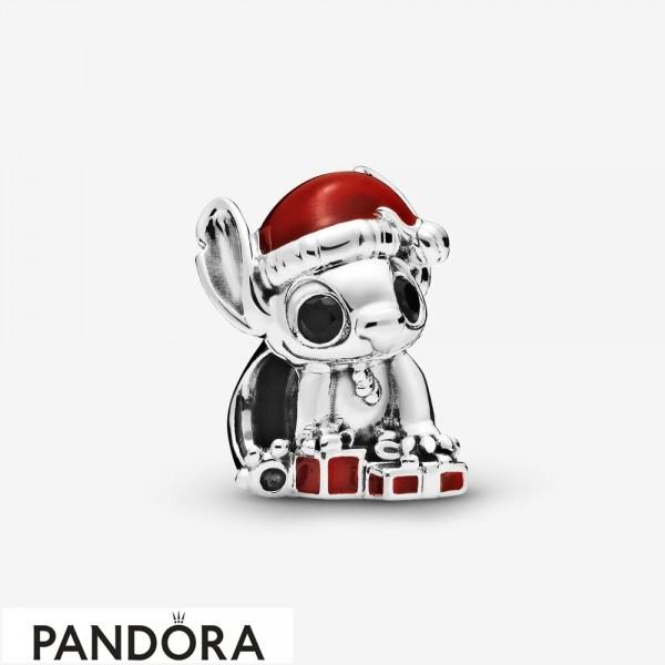 Women's Pandora Disney Stitch Christmas Charm Jewelry