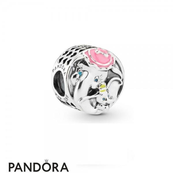 Women's Pandora Disney Dumbo & Mrs Jumbo Charm Jewelry