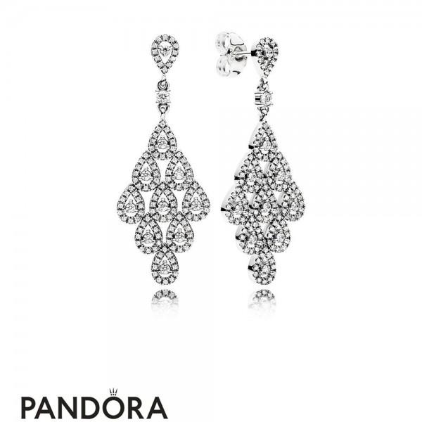 Pandora Earrings Cascading Glamour Earrings Jewelry