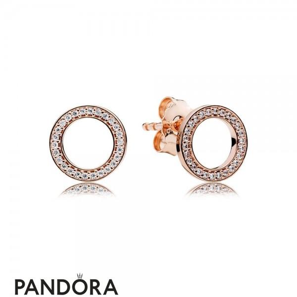 Pandora Earrings Forever Pandora Stud Earrings Pandora Rose Jewelry