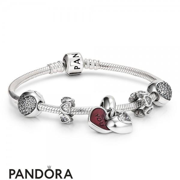 Women's Pandora Anniversary Gift Set Jewelry