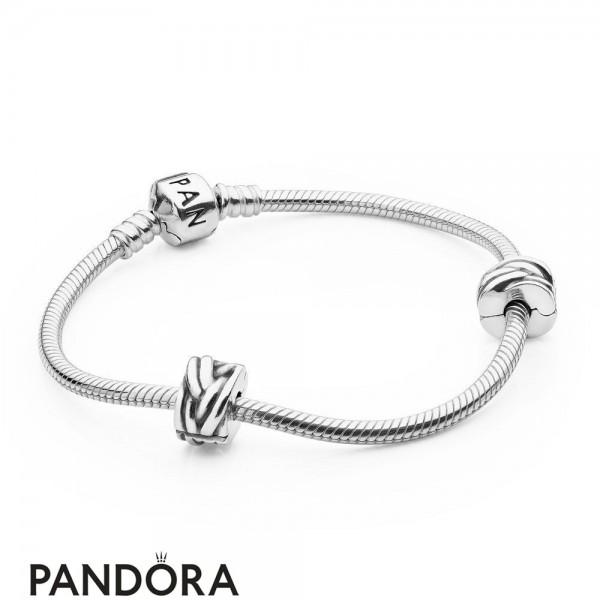 Women's Pandora Iconic Pandora Holiday Gift Clasp Bracelet Jewelry